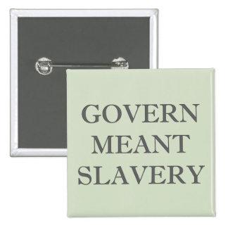 Reglera betytt slaveri standard kanpp fyrkantig 5.1 cm