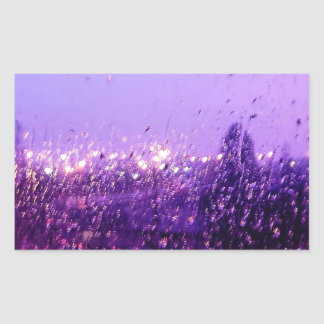 Regna besegrar på mig rektangulärt klistermärke