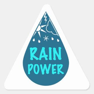 REGNA driver logotypen Triangelformat Klistermärke