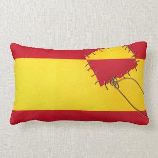 Regna i Spanien… vid @QUIXOTEdotTV Prydnadskuddar