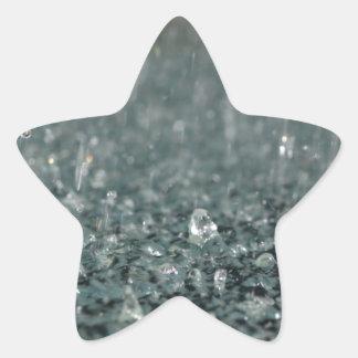 Regna Stjärnformat Klistermärke