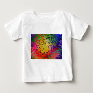 Regnbåge abstrakt #2 tee shirts