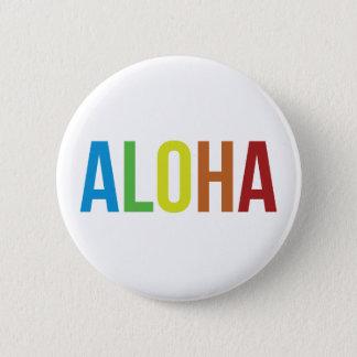 Regnbåge Aloha Standard Knapp Rund 5.7 Cm