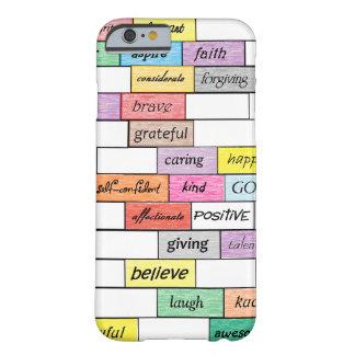 Regnbåge av det inspirera fodral för barely there iPhone 6 fodral