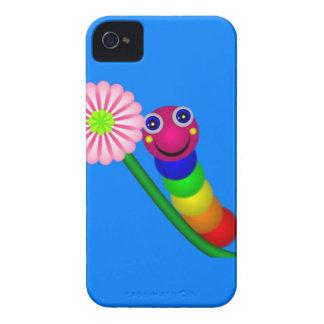 Regnbåge Caterpillar iPhone 4 Hud