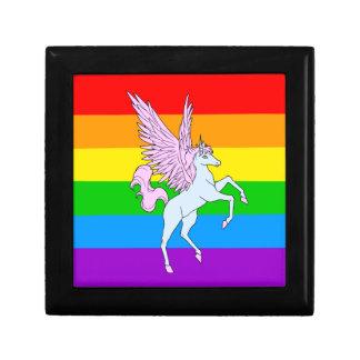 Regnbåge för Unicorn för Corey tiger80-tal Minnessak