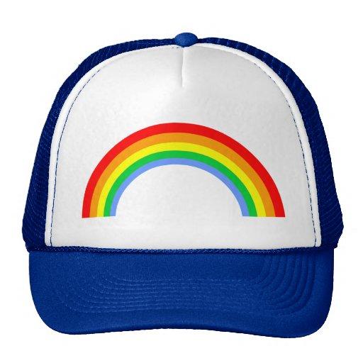 Regnbåge för vintage för Corey tiger80-tal Baseball Hat