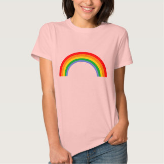 Regnbåge för vintage för Corey tiger80-tal T Shirts