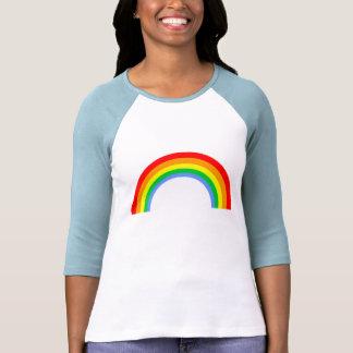 Regnbåge för vintage för Corey tiger80-tal Tee Shirts