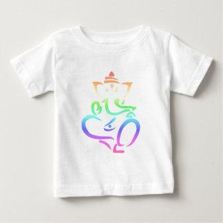 Regnbåge Ganesha Tee Shirt