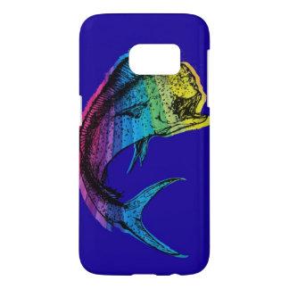 Regnbåge Mahi Mahi på havblått Galaxy S5 Skal
