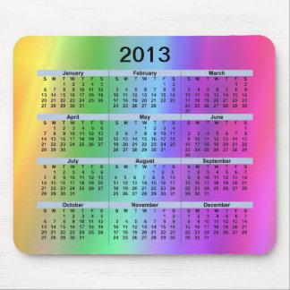 Regnbåge Mousepad för 2013 kalender Musmatta