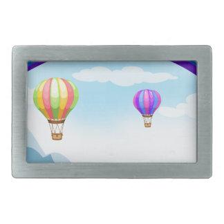 Regnbåge och ballonger