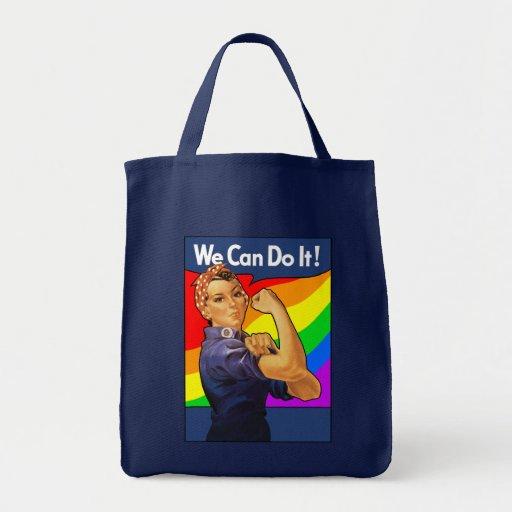 Regnbåge Rosie Tote Bag
