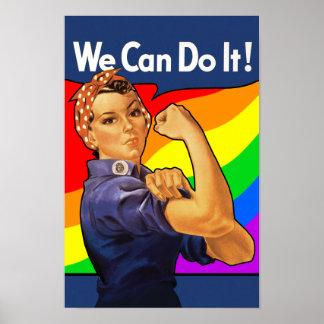 Regnbåge Rosie Poster