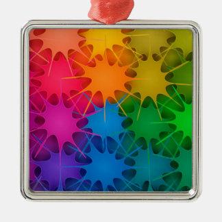 Regnbåge Splat! Julgransprydnad Metall