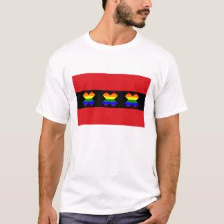 Regnbåge X för Amsterdam flagga LGBT Tröja