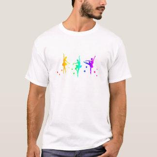 Regnbågebalett Tee Shirt