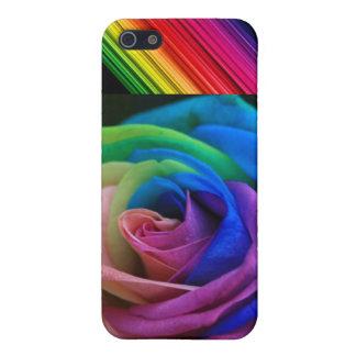Regnbågeblomma iPhone 5 Fodral