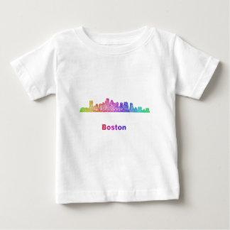 RegnbågeBoston horisont T Shirt