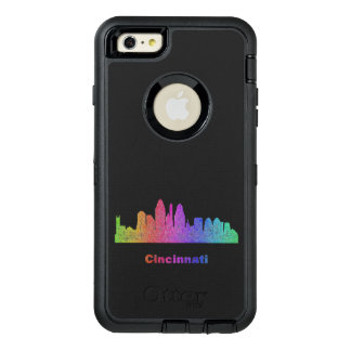 RegnbågeCincinnati horisont OtterBox Defender iPhone Skal