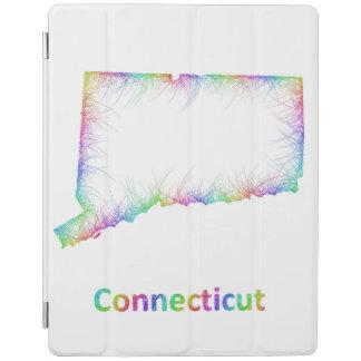 RegnbågeConnecticut karta iPad Skydd