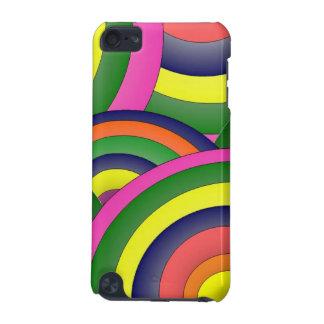 Regnbågefärg vadderar jag handlagfodral iPod touch 5G fodral