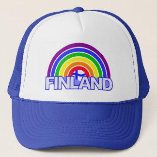 RegnbågeFinland hatt Keps