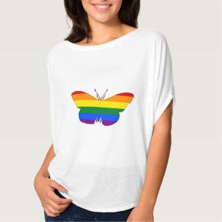Regnbågefjäril Tee Shirts