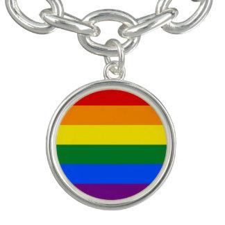 Regnbågeflagga Armband
