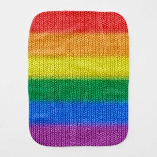 Regnbågeflagga som sticker det seamless mönster bebistrasa