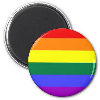 Regnbågeflaggamagnet Magnet