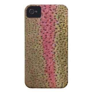 Regnbågeforellblackberry fodral Case-Mate iPhone 4 skydd