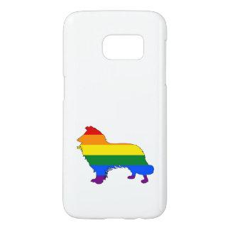 RegnbågegränsCollie Galaxy S5 Skal