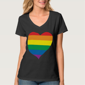 Regnbågekärlekhjärta, gay pride, kärleksegrar tröjor