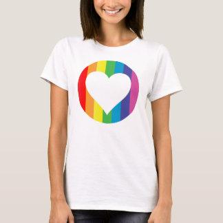 regnbågelove. t shirts