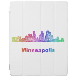 RegnbågeMinneapolis horisont iPad Skydd