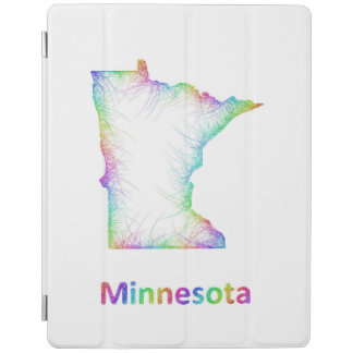 RegnbågeMinnesota karta iPad Skydd