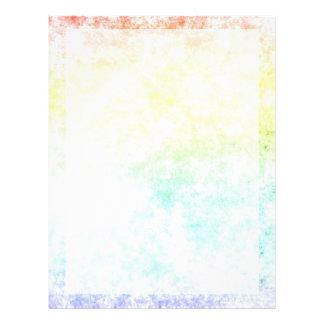 Regnbågemolnbakgrund skräddarsy eller det molniga reklamblad
