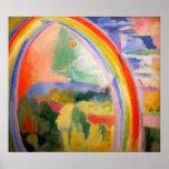 Regnbågen av Robert Delaunay Posters