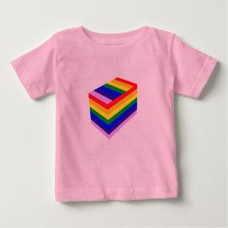 REGNBÅGEN BOXAS den fina Jersey för babyen T-tröja Tee