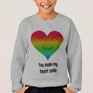 Regnbågen gör du min hjärta att le t-shirts
