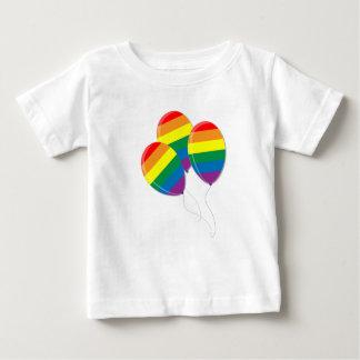 Regnbågen sväller T-tröja T-shirts