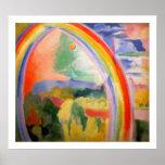 Regnbågen - vintageklassiker - vid Robert Delaunay Posters