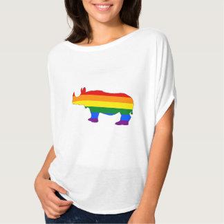 Regnbågenoshörning T Shirt