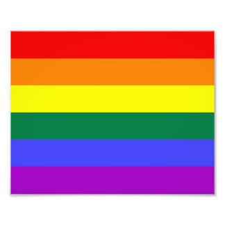 Regnbågeprideflagga Fototryck