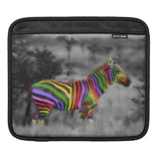 Regnbågesebra Sleeves För iPads