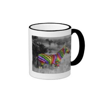 Regnbågesebra Kaffe Koppar