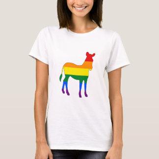 Regnbågesebra Tee Shirt