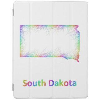 RegnbågeSouth Dakota karta iPad Skydd
